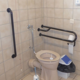 Sanitation facilities and Sanitation facilities for the disabled
